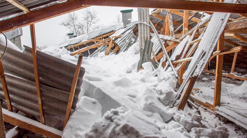 Пять человек извлечены из-под завалов после обрушения здания в Дзержинском