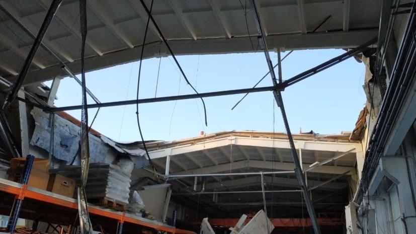 СК начал проверку по факту частичного обрушения здания в Дзержинском