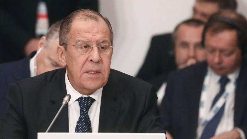 Лавров заявил, что Россия не будет воевать с Украиной