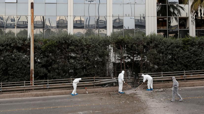 Взрыв произошёл у здания телеканала в Афинах