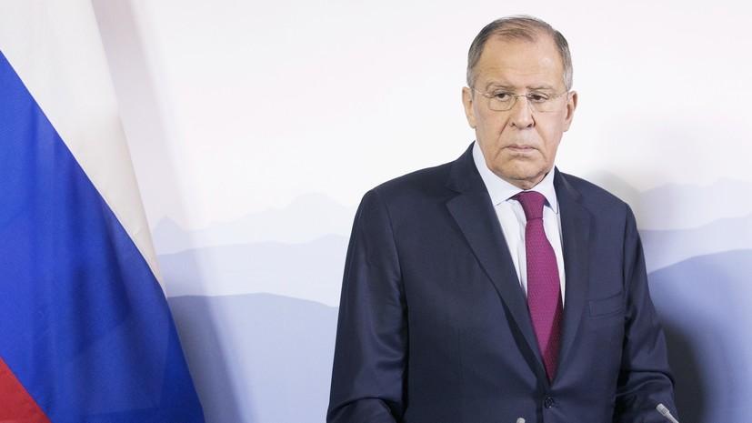 Лавров заявил о подготовке Киевом провокации на границе с Россией