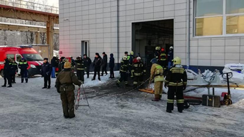 Число пострадавших при обрушении кровли здания в Дзержинском достигло 14