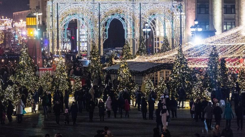 Мэр Москвы рассказал о фестивале «Путешествие в Рождество — 2018»