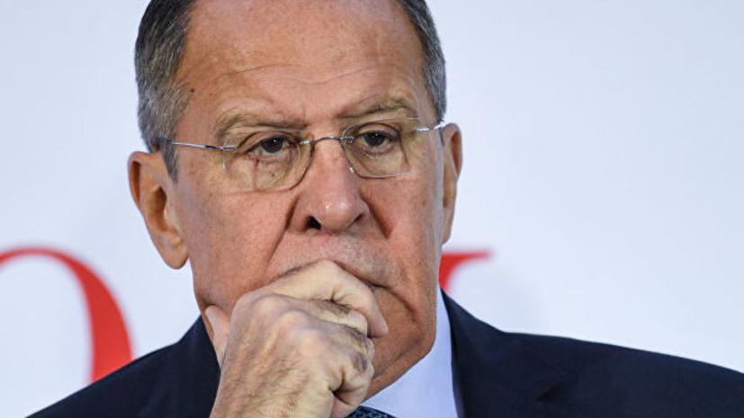 Премьер Украины прокомментировал заявление Лаврова о провокации