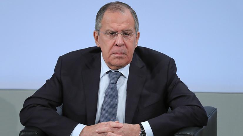 «Воевать с Украиной мы не будем»: Лавров заявил о подготовке Киева к провокации на границе с Крымом