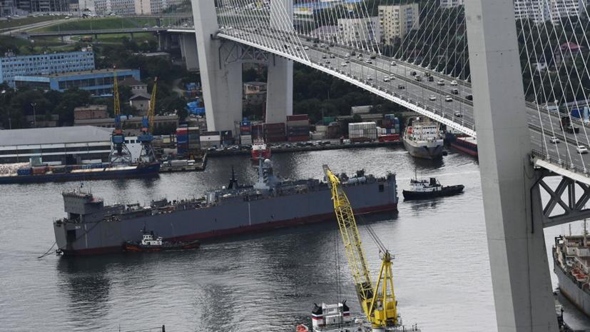 Корвет «Громкий» завершает морскую часть государственных испытаний во Владивостоке