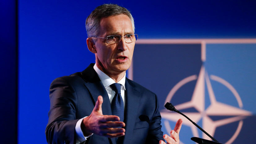Генсек НАТО встретится с вице-премьером Украины