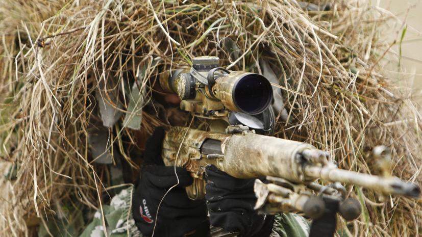 Подразделения снайперов-разведчиков ЧФ провели учения в Крыму