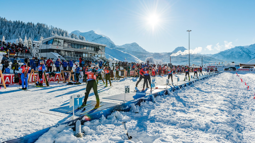 Резцова прокомментировала выступление российских биатлонистов в Австрии