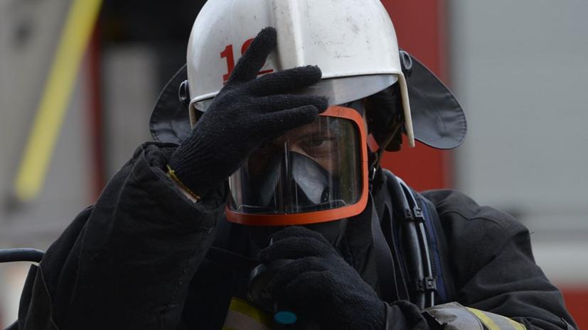 Торговый центр загорелся в Кемеровской области