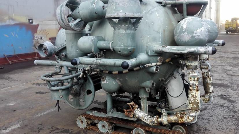 Новым экспонатом музея батискафов в Петербурге станет морской комплекс МТК-200