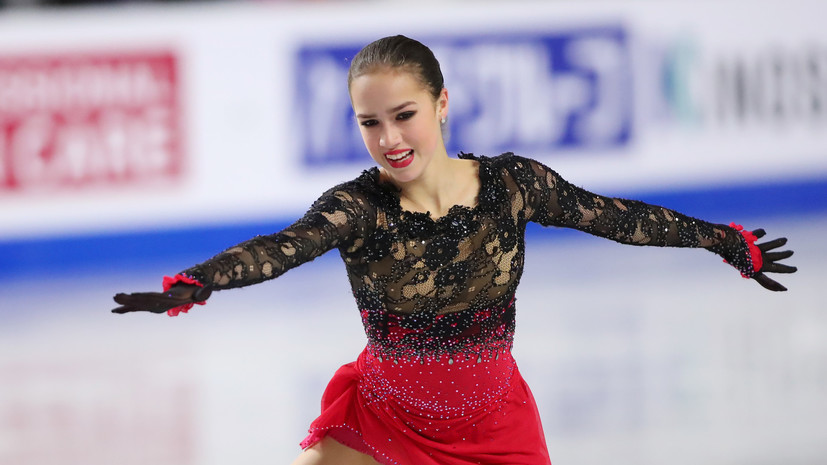 Американская спортивная академия признала Загитову лучшей спортсменкой ноября