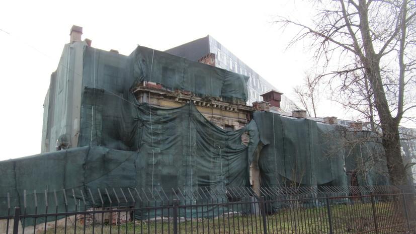 В Петербурге признали объектом культурного наследия Полюстровскую трамвайную подстанцию