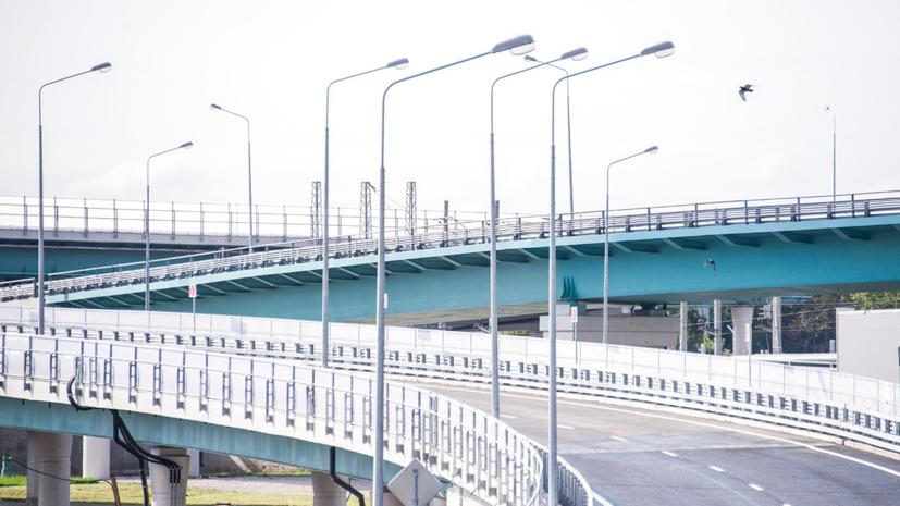 На МКАД планируют реконструировать восемь развязок до конца 2022 года
