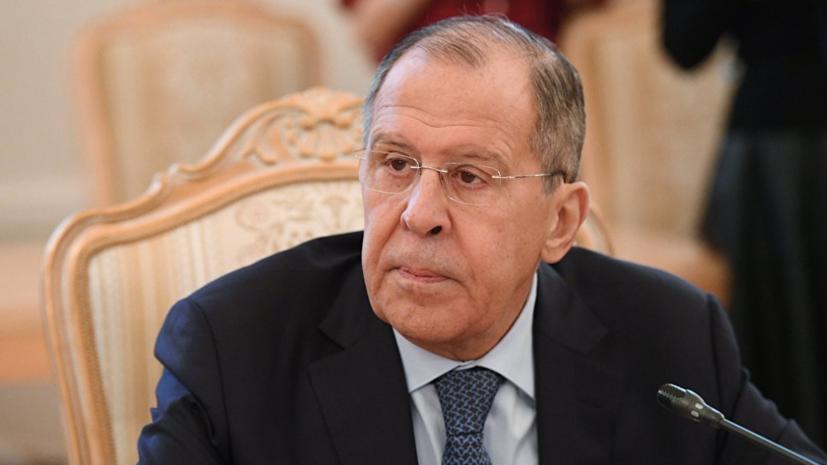 Лавров рассказал о планах провести встречу конституционного комитета САР в 2019 году