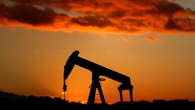 Цена нефти Brent опустилась ниже $57 за баррель