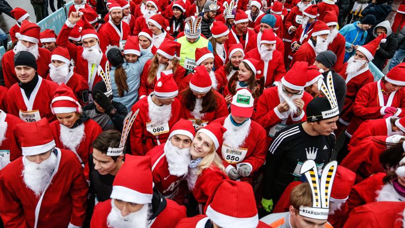 Забег Дедов Морозов пройдёт 22 декабря в Петербурге