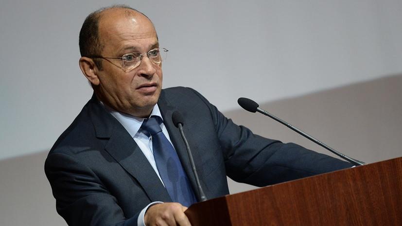 Глава РПЛ Прядкин назначен исполняющим обязанности президента РФС