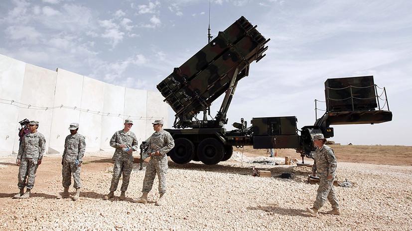«Пытаются перехватить инициативу»: США одобрили соглашение на поставку Турции ЗРК Patriot