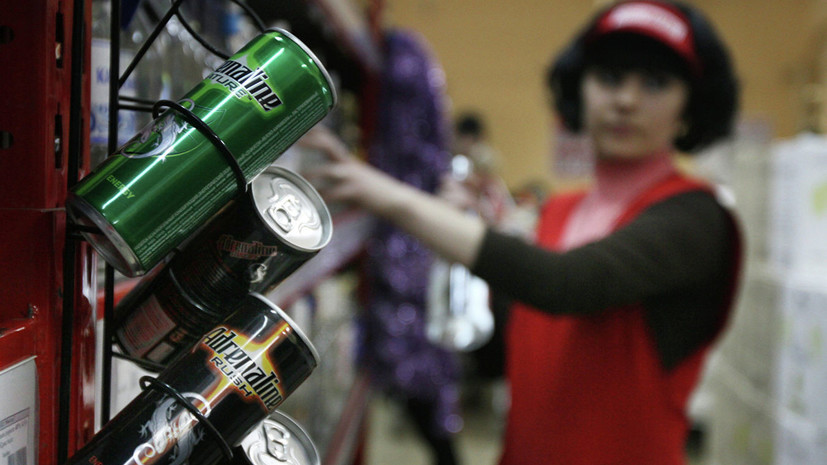 В Госдуме прокомментировали предложение ввести штрафы за продажу безалкогольных энергетиков детям