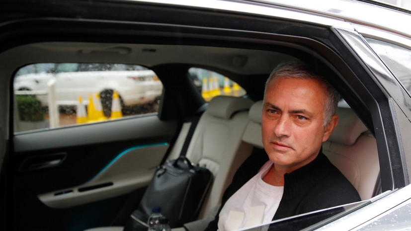 Моуринью заявил, что не хочет обсуждать свой уход из «Манчестер Юнайтед»