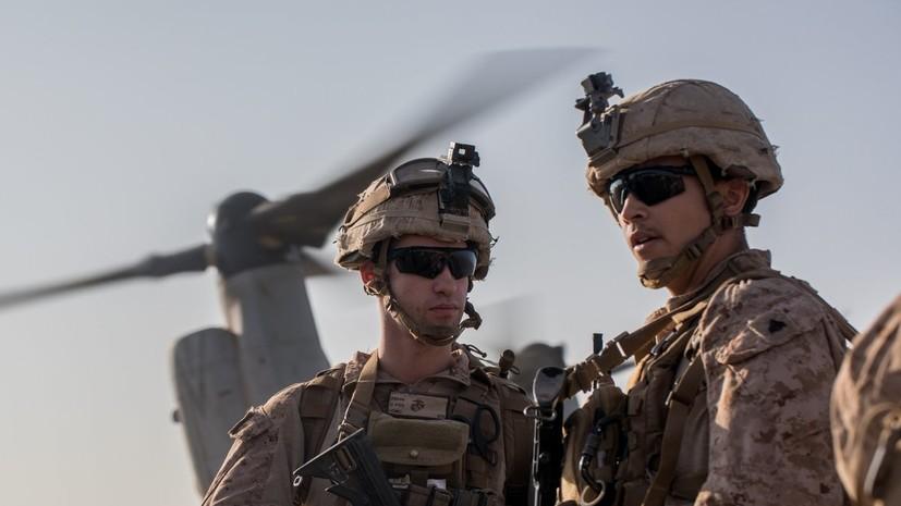 Пентагон подтвердил начало вывода войск из Сирии