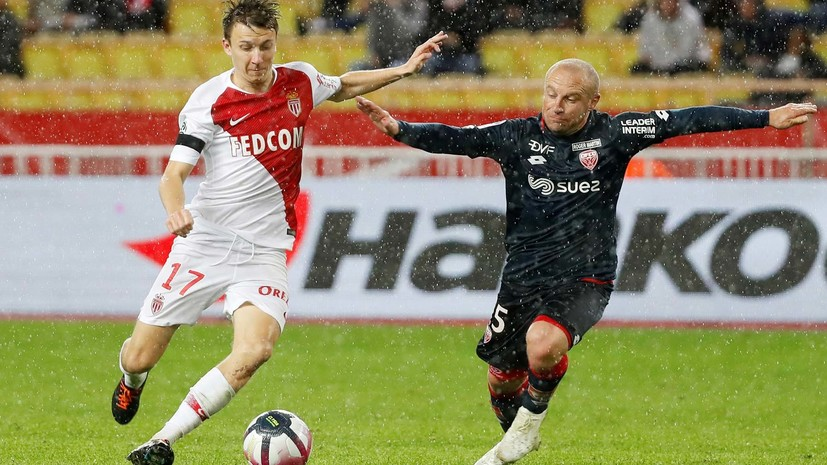 СМИ: Футболист «Монако» Головин дисквалифицирован на четыре матча