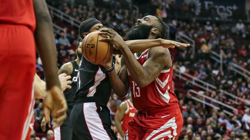 «Хьюстон» установил новый рекорд НБА по количеству точных трёхочковых бросков за матч