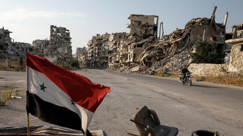 Источник сообщил о консультациях по возвращению Сирии в ЛАГ