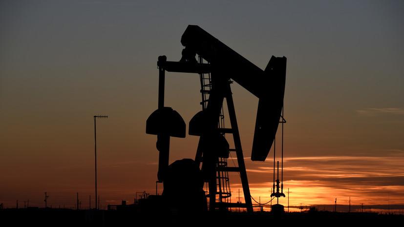 Нефть марки Brent упала ниже $55