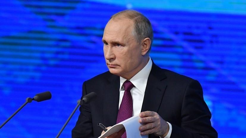 Путин связал санкции с ростом могущества России