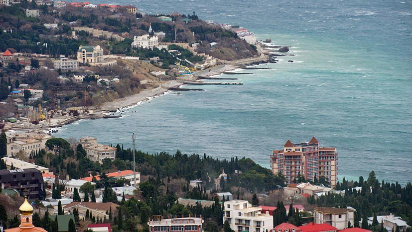 Крым вошёл в пятёрку популярных внутрироссийских направлений на Новый год