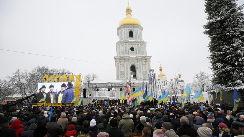 Путин констатировал прямое вмешательство Киева в дела церкви