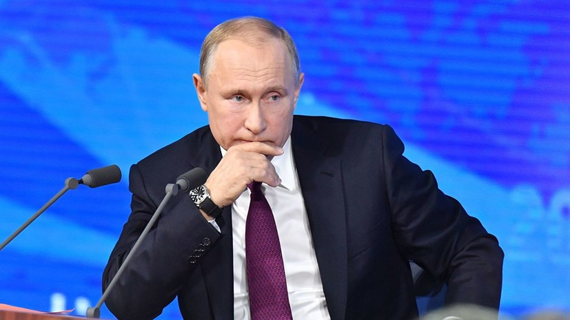 Путин рассказал о своём здоровье