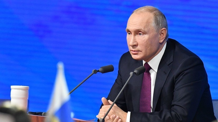 Путин ответил на заявления о милитаризации Крыма