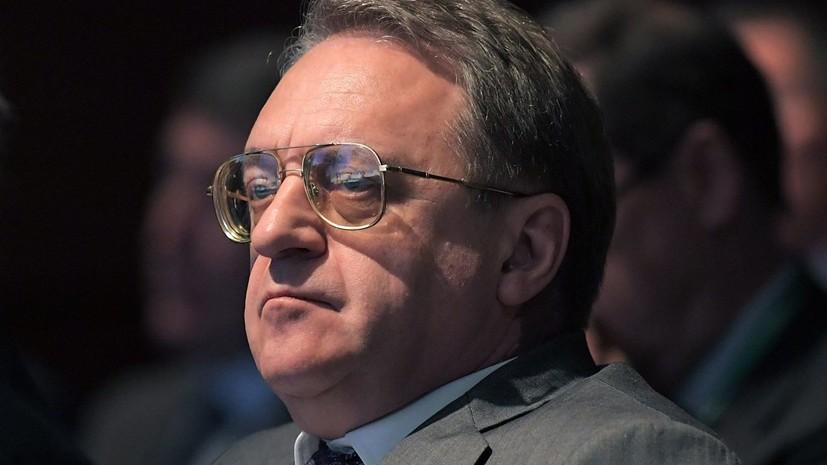 Богданов обсудил с послом Иордании ситуацию в Сирии