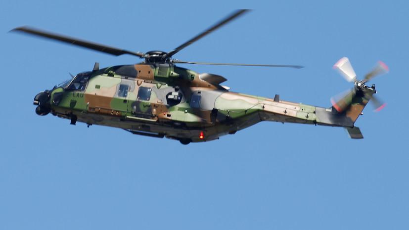 На Украину вылетели первые французские вертолёты Airbus