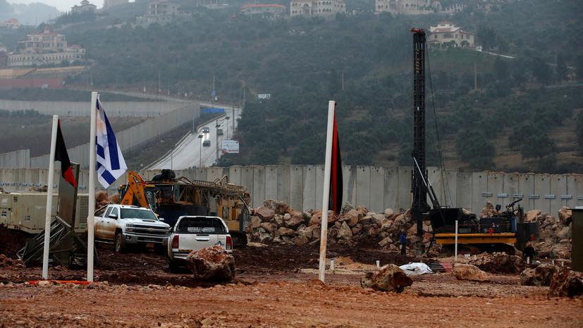 Армия Израиля начала уничтожение обнаруженных на границе с Ливаном тоннелей