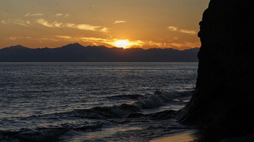 По восточному берегу Камчатки объявлена угроза цунами