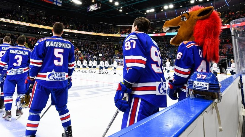 СКА проиграл рижскому «Динамо» в регулярном чемпионате КХЛ