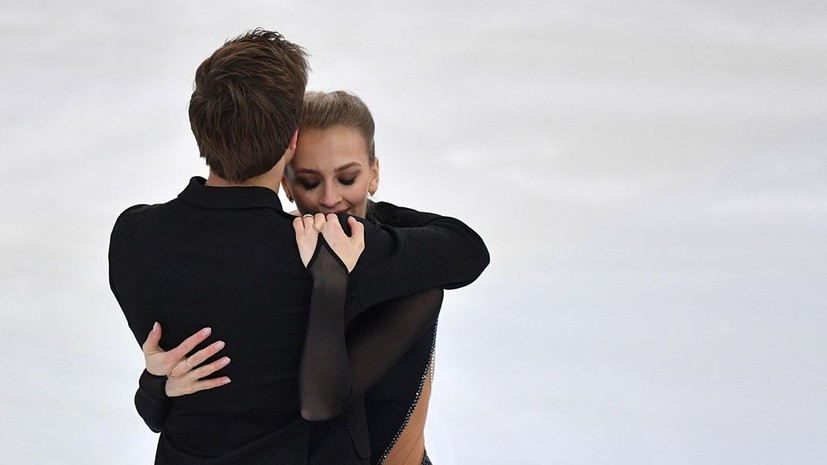 В шаге от мирового рекорда: Синицина и Кацалапов победили в ритм-танце на ЧР по фигурному катанию