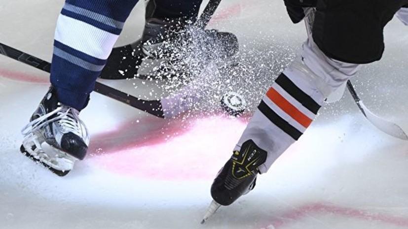 Сборная России по хоккею U20 уступила США в рамках подготовки к МЧМ, выигрывая 2:0 по ходу матча