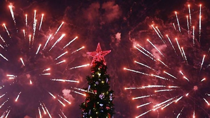 В Москве подготовили 31 площадку для новогодних фейерверков