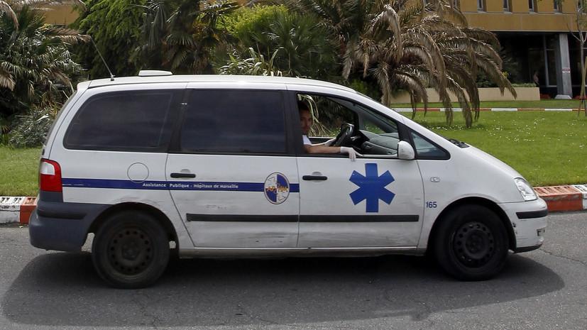 СМИ: В Марселе 14 человек пострадали при сходе поезда с рельсов
