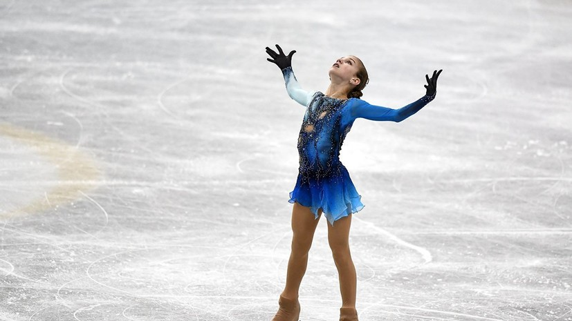 Трусова призналась, что ей нравится соревноваться со взрослыми фигуристками на ЧР