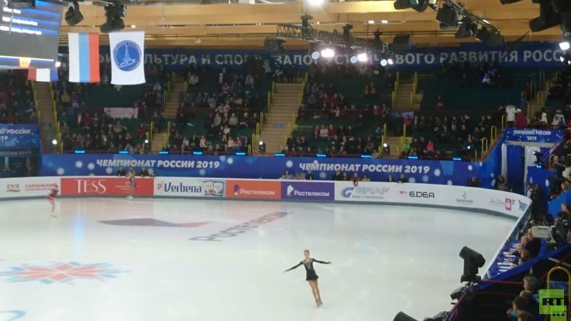 Соревнования фигуристок на чемпионате России в Саранске начались без аншлага
