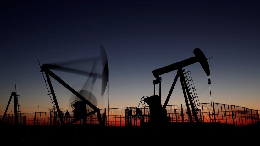 Цена на нефть Brent упала ниже $53