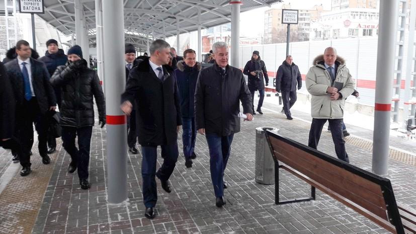 Новый участок железной дороги построен в рамках создания МЦД