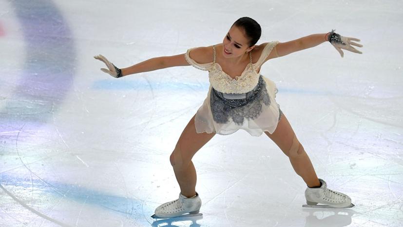 Загитова выступит 16-й в произвольной программе на чемпионате России