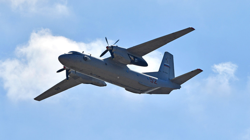 Потерпевшим крушение в ДР Конго Ан-26 могли управлять российские пилоты